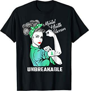 mental health warrior t shirt