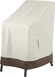 AmazonBasics Outdoor Stackable-Chair Patio Furniture Cover