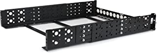 StarTech.com Universal Server Rack Rails - 2U Rack Rails - Universal - Open Frame - Audio Rack (UNIRAILS2U)