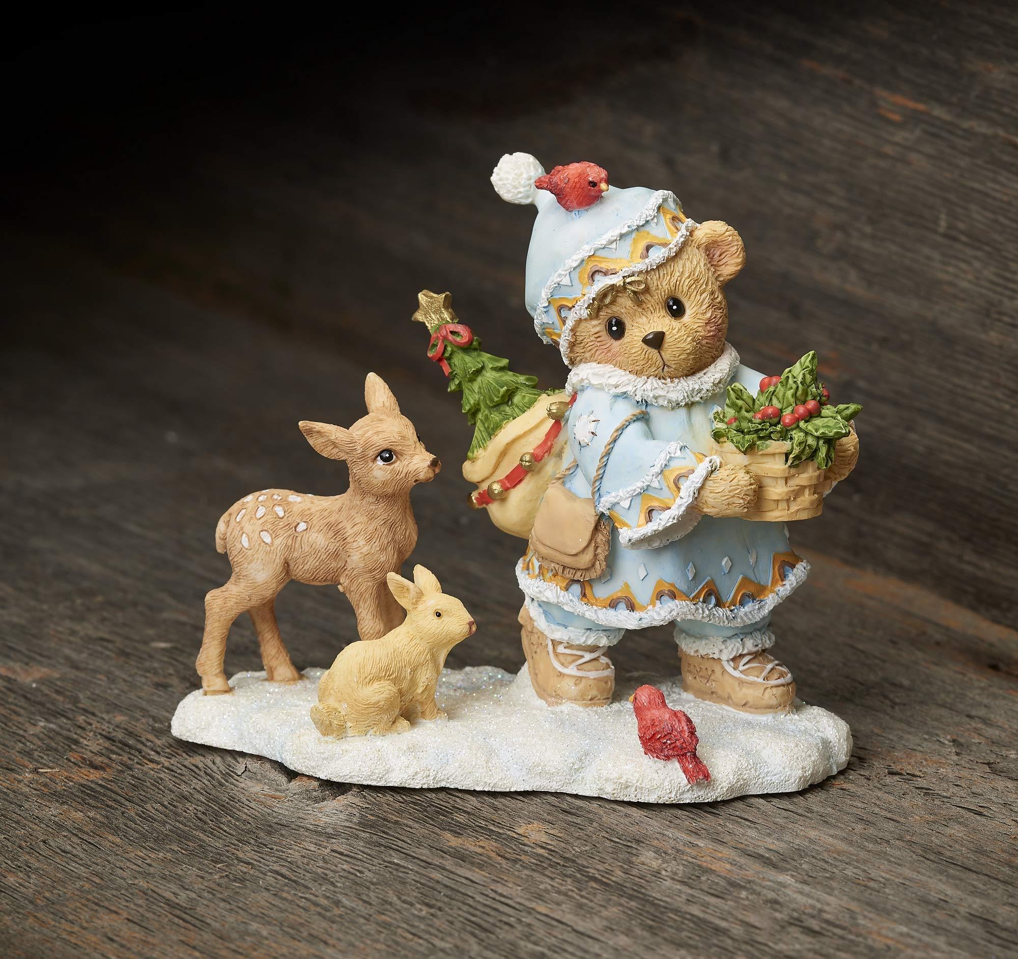 Cherished Teddies 132846 Inga Laplander Winter Figurine