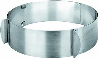 Ibili 717216 Moule/Cercle éxtensible Inox (16..30 cm)