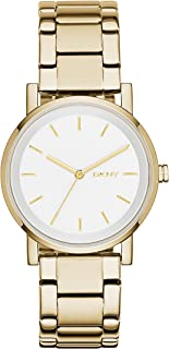 DKNY SoHo, Women's Analog Watch, NY2343 - Silver, Gold