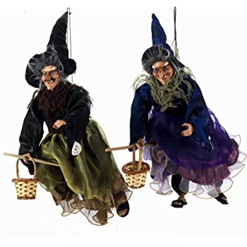 Figuras de Bruja Volando 2 Colores Surtidos Aprox. 50/cm Sunny Toys 21732 Poly