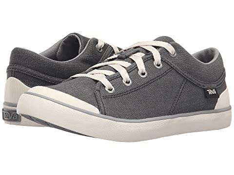 Washed Canvas Freewheel Teva Gris Negro 0SwW7
