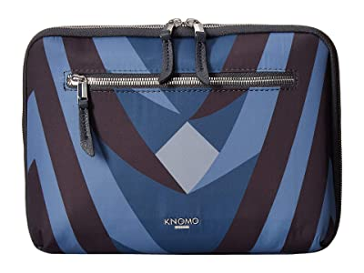 KNOMO London VA Knomad 10 Tech Organizer (Dark Navy) Travel Pouch