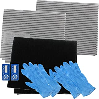 Spares2go Cooker Hood Carbon Grease Filter Complete Kit For Electrolux Kitchen Extractor Fan Vent