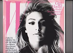 W Magazine September 2015 Gigi Hadid the World's Most Connected Supermodel