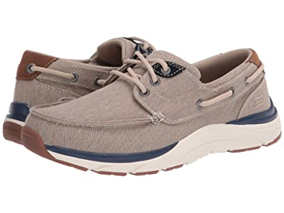 SKECHERS Relaxed Fit Sentinal Hagman (Light Brown) Men