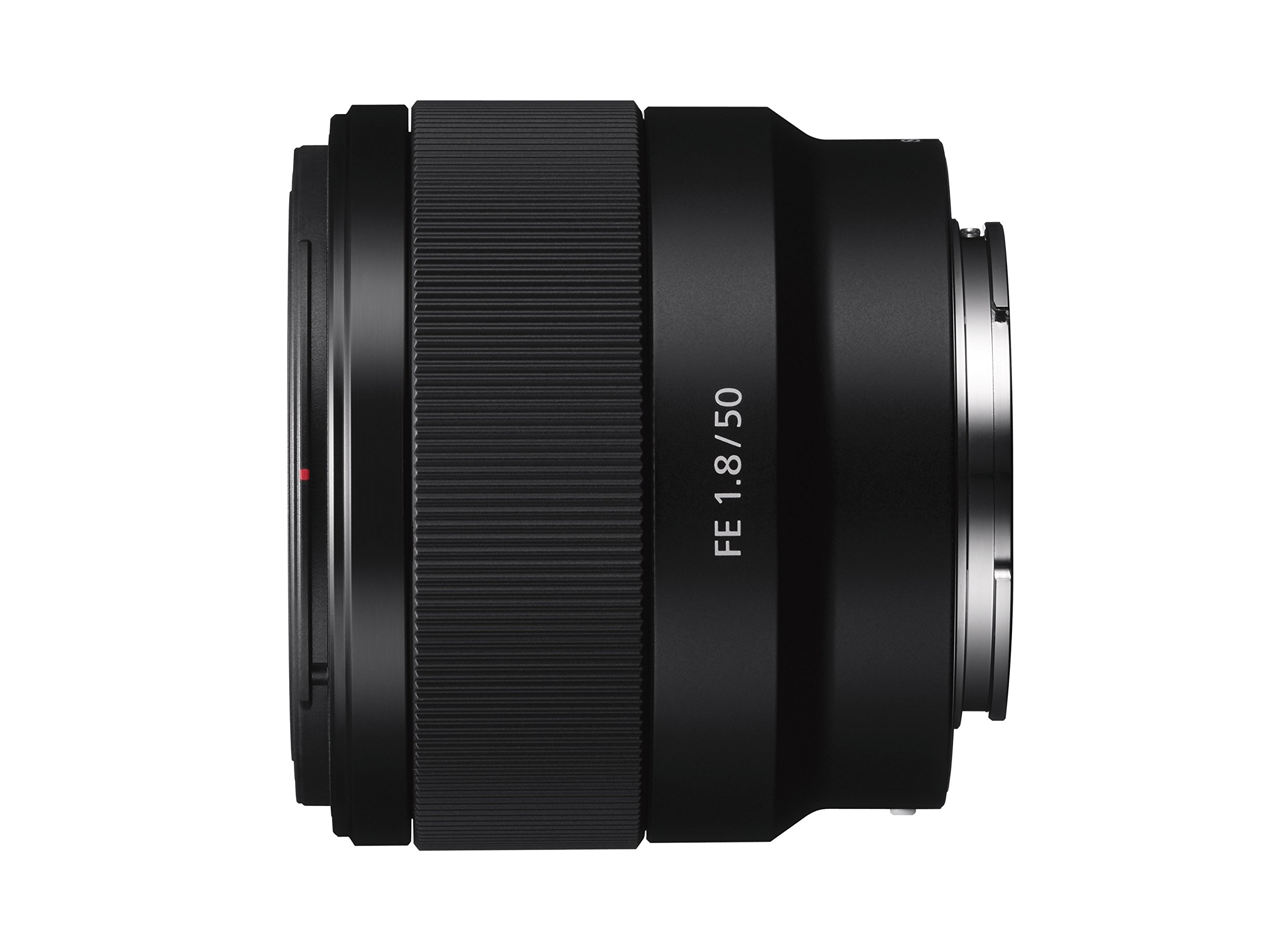 Sony FE 50mm F1.8 Compact Lightweight E-Mount Lens with Beautiful Dedofusing Bokeh Compatible with Full Frame and APS-C Camera SEL50F18F