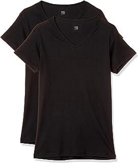 [グンゼ] インナーシャツ YG 綿100% Vネック半袖 YV0015N メンズ