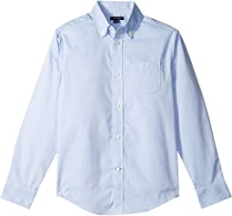 Pinpoint Oxford Shirt (Big Kids)
