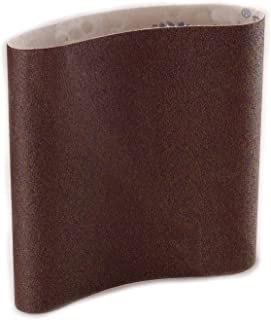 Sungold Abrasives 87966 Aluminum Oxide Cloth 80 Grit EZ8 Floor Sanding Belts (10/Pack), 8