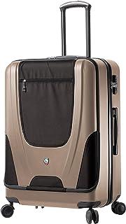 حقيبة سبينر إيبيدو ذات الجانب الصلب 68.58 سم من ميا تورو، لون الشمبانيا