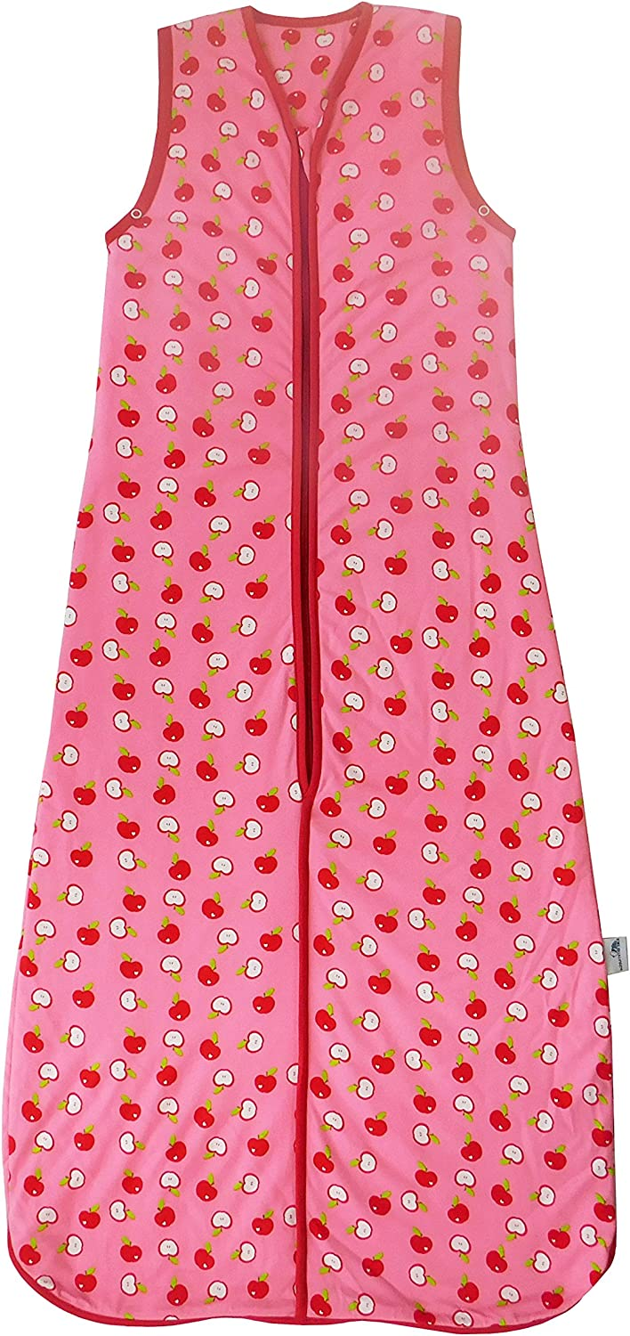 Slumbersac Sleeping Bag 2.5 Tog-Simply Red Apple - 3-6 years 51 inch