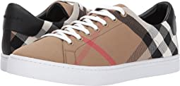 Burberry - Albert House Check Low Top