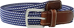 Vineyard Vines - Fine Stripe Bungee Belt