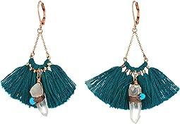 SHASHI - Celestine Tassel Earrings