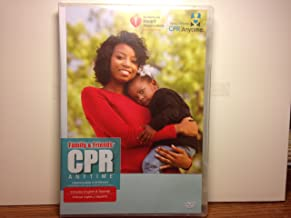 Family and Friends - CPR Anytime: CPR Skills Practice DVD (Includes English & Spanish) (Special Features: Closed Captioning)