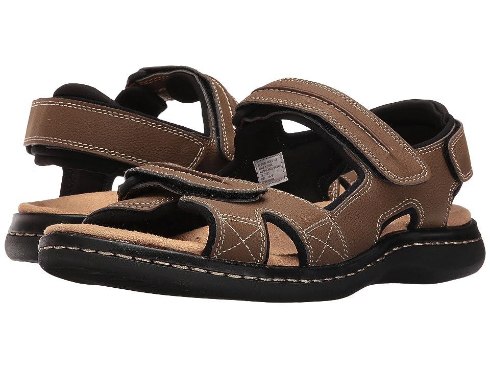 Dockers Newpage Quarter Strap Sandal (Dark Tan) Men