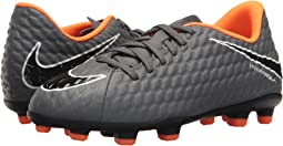 Nike Kids Jr. Hypervenom Phantom 3 Club FG Soccer (Toddler/Little Kid/Big Kid)