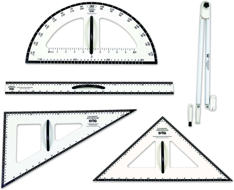 Lernen Vorteil 7599Dry Erase magnetische Messung Set, Klasse  1