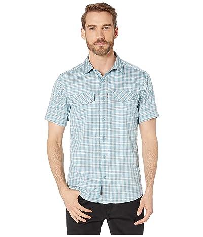 Royal Robbins Ultra Light Short Sleeve Shirt (Smoke Blue) Men