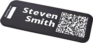 custom metal bag tags