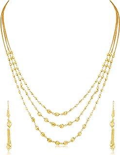 Sukkhi Jewellery Sets for Women (Golden) (N71877GLDPV092017)