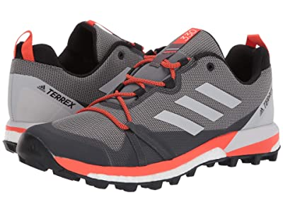 adidas Outdoor Terrex Skychaser LT (Grey Three/Grey One/Active Orange) Men