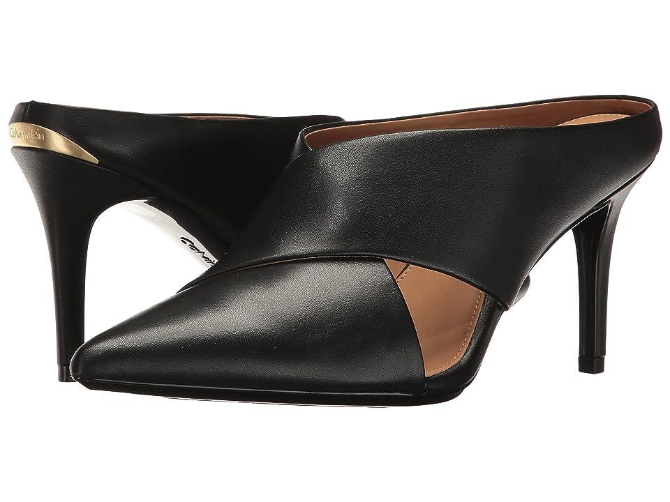 Calvin Klein Gilliana (Black Leather) Women