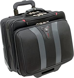 Swissgear Granada Rolling Case Nylon for Upto 17-Inch Notebooks - Black