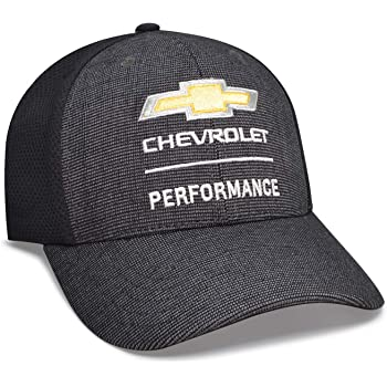 Checkered Flag Gray Front and Mesh Back Sprots Baseball Cap for Chevrolet Performance