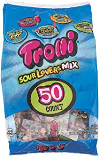 Fun Express - Trolli Sour Lovers Mix (36 Oz) - Edibles - Assorted Candy - Branded Assorted Candy - 50 Pieces