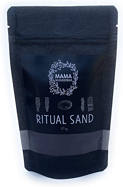 MAMA WUNDERBAR Ritual Sand And Blessed Incense Sand Goddess Purple