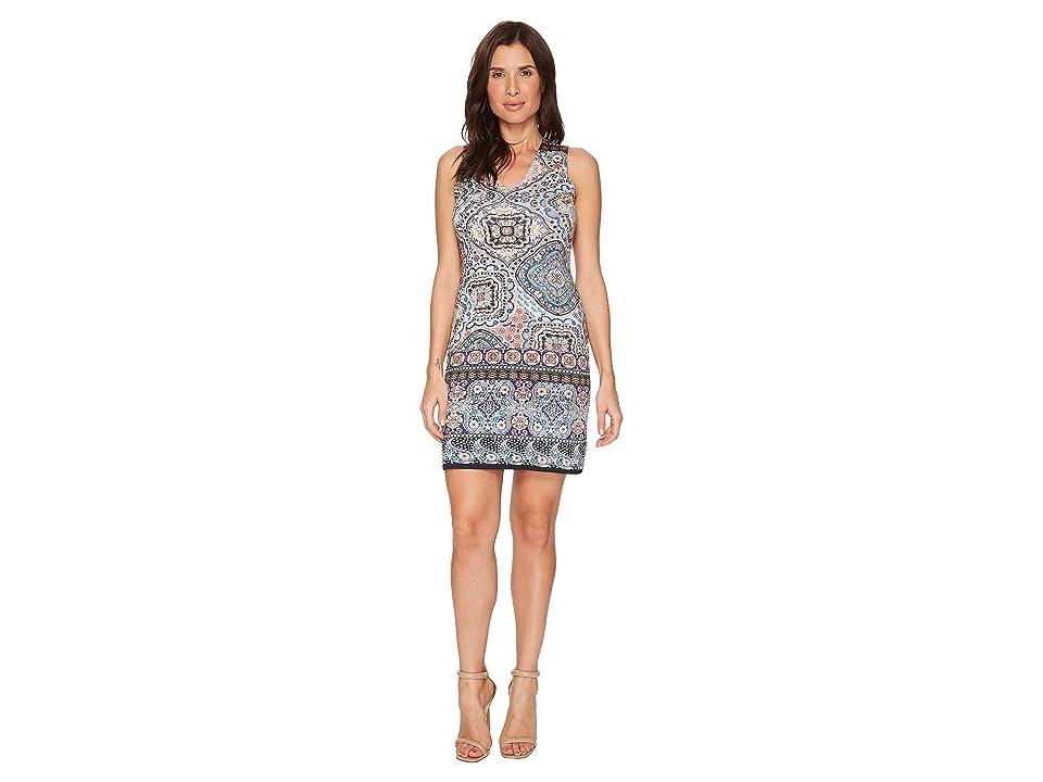 Karen Kane Tuscan Tile Sheath Dress (Print) Women