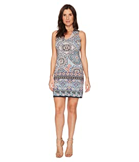 Tuscan Tile Sheath Dress