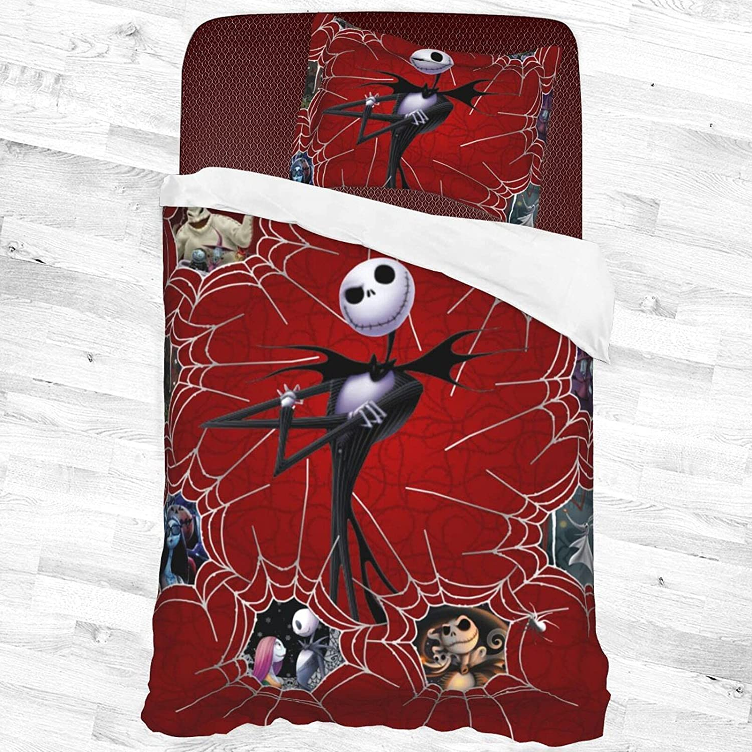Bargain sale The Night.Mar.E Before Christmas Decorative Bedding Ranking TOP2 Piece 2 Set