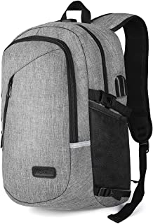 Laptop Backpack, May's Urban School College Large Travel Backpack Anti Theft with USB Charging