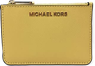 Michael Kors Jet Set Travel Small Top Zip Coin Pouch with ID Holder Saffiano Leather - 2019 Style 35F7GTVU1L / 35F7STVU1L