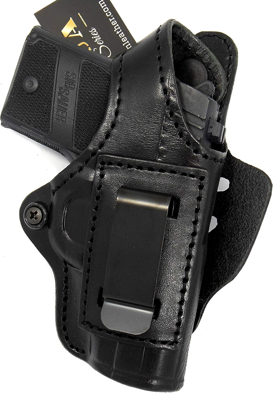 HOLSTERMART USA TAGUA Premium Deluxe IW Leather Black 5 ☆ very popular Right Hand High order