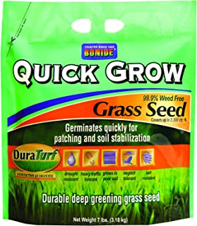 Bonide 60264 Quick Grow Grass Seed, 7-Pound
