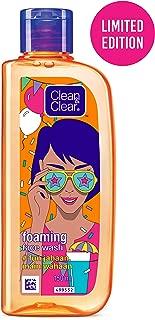 """Clean & Clear Face Wash – """"fun Jahaan, Main Wahaan"""" (Foaming Facewash), Orange, 150 ml"""