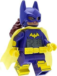 LEGO 9009334 Batman Movie Batgirl Minifigure Light Up Alarm Clock