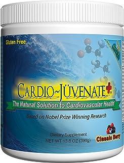 Cardio Juvenate Plus Classic Berry Cardio Health Formula: Nitric Oxide Supplement 5000mg L-arginine, 1000mg L-citrulline, ...