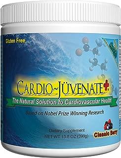 Cardio Juvenate Plus Classic Berry Cardio Health Formula: Nitric Oxide Supplement 5000mg L-arginine, 1000mg L-citrulline, 1000mg L-carnitine per serving to support heart health and blood pressure