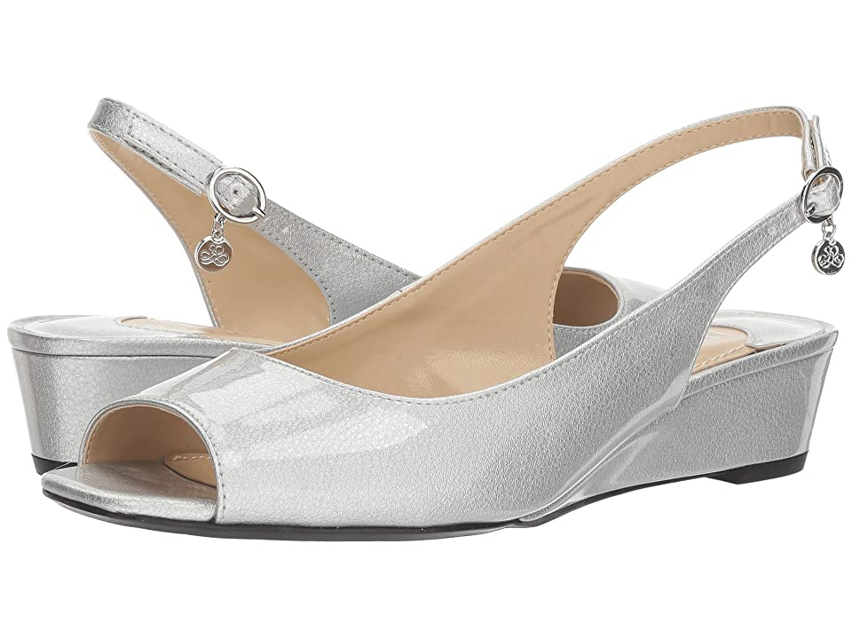 J. Renee Alivia (Silver Metallic) High Heels