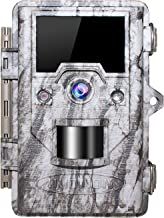 """OUDMON Trail Game Camera 16MP 1080p 30fps FHD Wildlife Scouting Hunting Cam with 940nm 48Pcs No Glow IR LEDs Motion Activated Night Vision 2.4"""" LCD…"""
