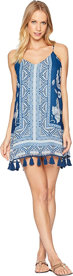 Throw & Go Tassel Mini Dress