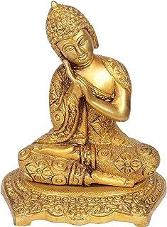 Fasherati Thinking Buddha (Tibetan Buddhist) - Brass Statue