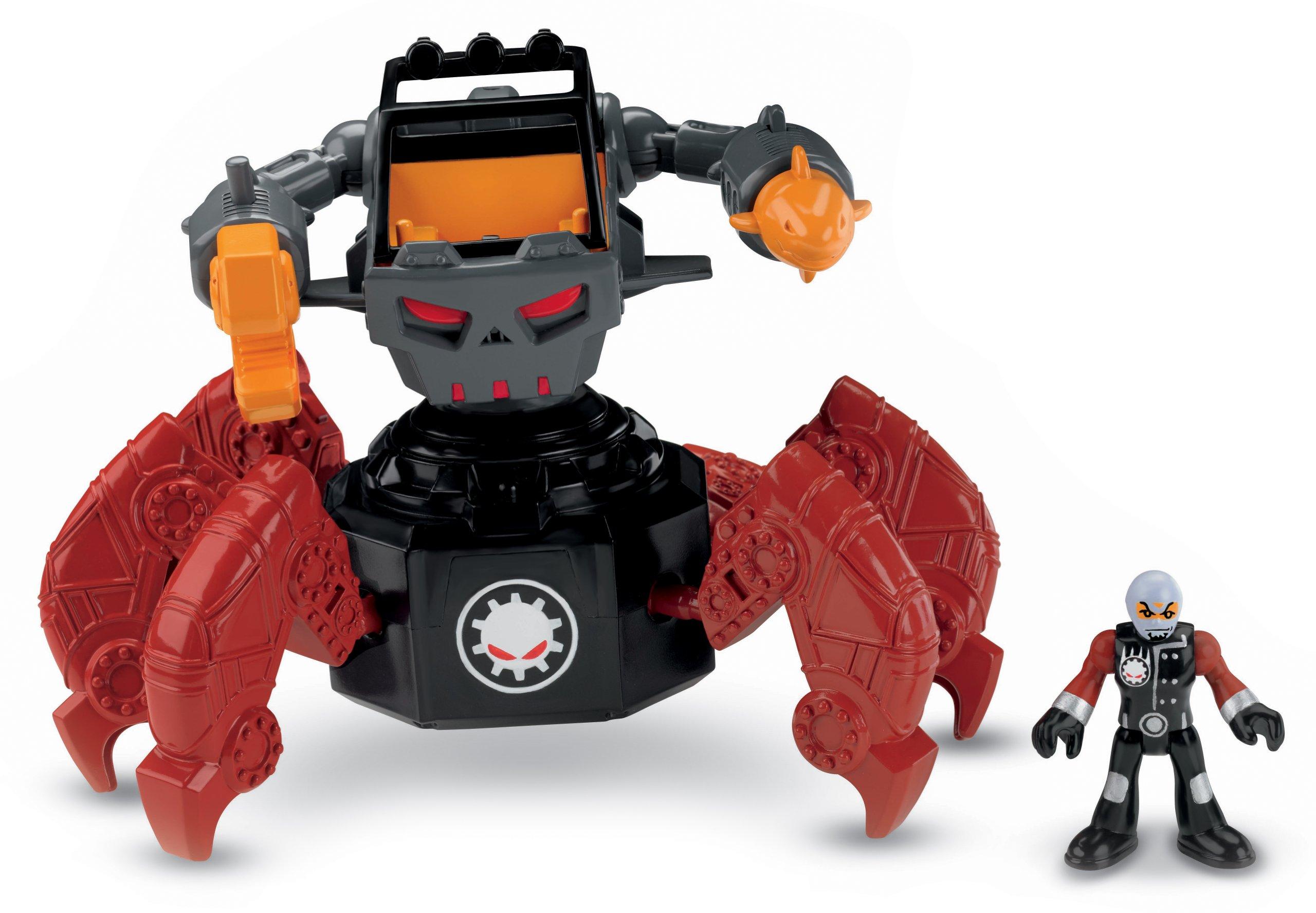 Fisher-Price Imaginext Robot Police - Motorized Villain Robot